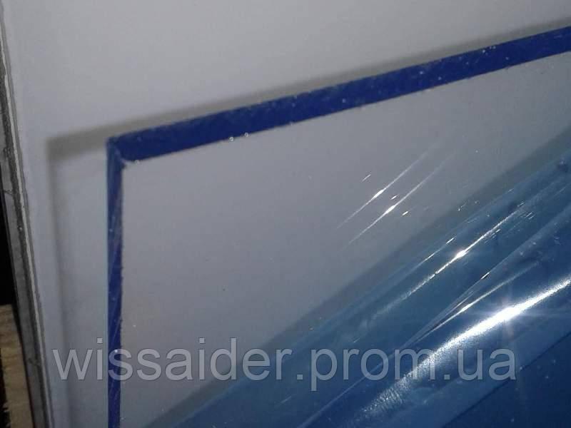Листовой акрил (оргстекло) прозрачный. экструзия. 5,0мм. (1023мм х 1523мм = 1,56м2)