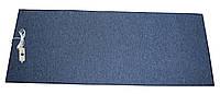 🔝 Электрический ковер с подогревом, инфракрасный коврик, 150 x 60 см, (прямые углы) тёмно-синий Трио | 🎁%🚚