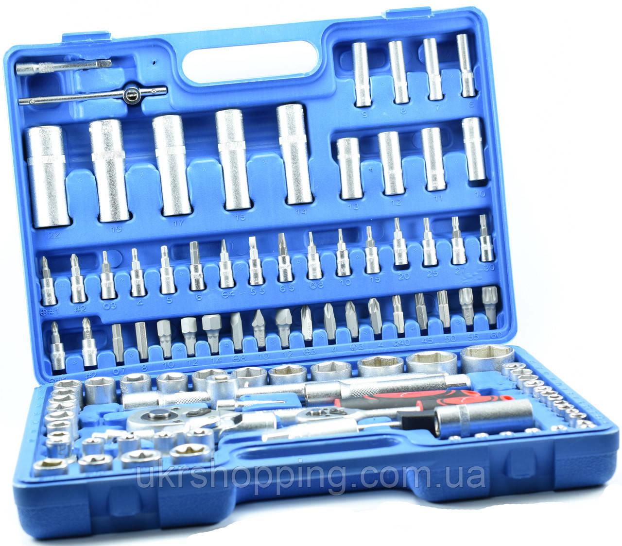 Набор инструментов 108 предметов, Extra EX-8038, автоинструмент