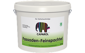 Фасадная шпатлёвочная масса на основе синтетических материалов Caparol Fassaden-Feinspachtel naturweiss, 25 кг