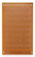 Плата макетная Гетинакс с бакелитом  (90х150)мм