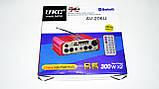 Усилитель UKC AV-206U - Bluetooth, USB,SD,FM,MP3! 300W+300W Караоке 2х канальный, фото 8