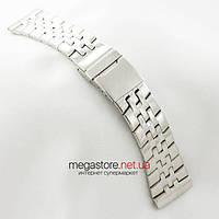 Для часов браслет Breitling silver 26мм (05750), фото 1
