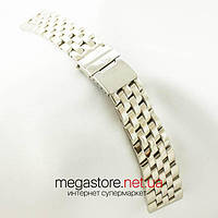 Для часов браслет Breitling серебро 22х20мм (06198), фото 1