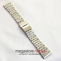 Для часов браслет Breitling серебро 22х18 мм (06784), фото 1