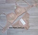 Комплект женского белья  80,85В персик арт 5521,без каркасов., фото 4