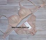 Комплект женского белья  80,85В персик арт 5521,без каркасов., фото 2