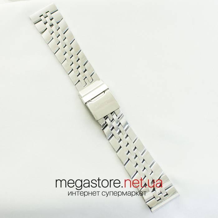 Для часов браслет Breitling серебро 24х20мм (07152), фото 1