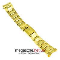 Стальной браслет Rolex Daytona золото 20мм (07982), фото 1