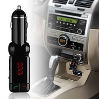 Автомобильный ФМ модулятор FM трансмиттер MP3 FM USB SD LCD S16BL, фото 1