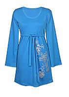 Женское платье с длинным рукавом большие размеры