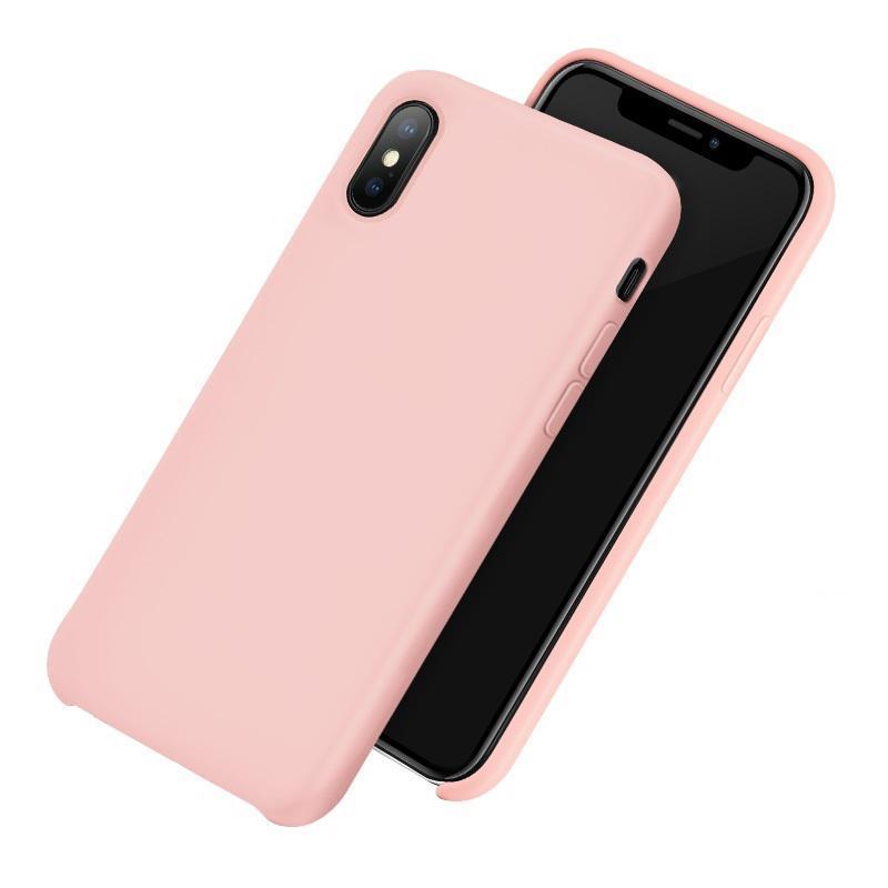 Чехол для iPhone Xr Hoco Pure Series розовый
