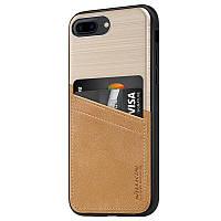 Чехол для iPhone 7 Plus / iPhone 8 Plus Nillkin - Classy Back золотой