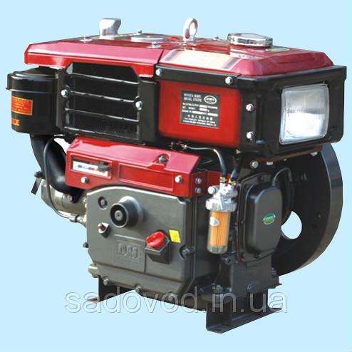 Двигатель Булат R192NЕ (дизель, 12 л.с., электростартер, водяное охлаждение)