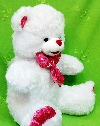 Очаровательный плюшевый Мишка 65 см с розовым бантом прекрасный подарок для девочки, фото 2