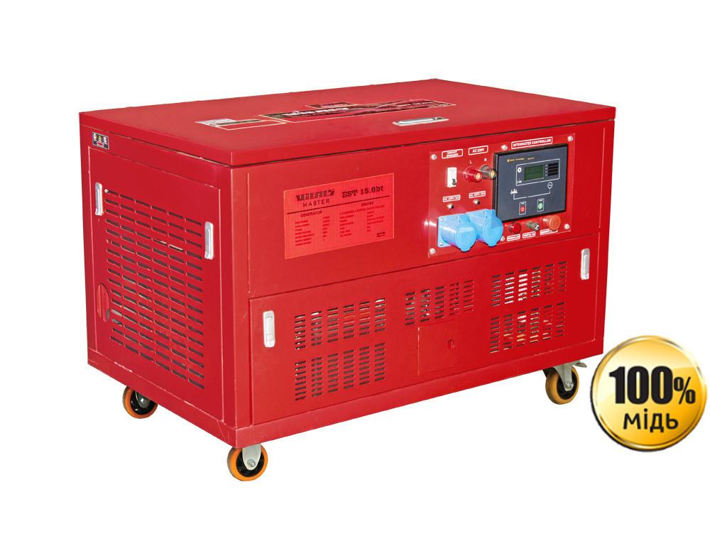 Генератор бензиновый Vitals Master EST 15.0bt