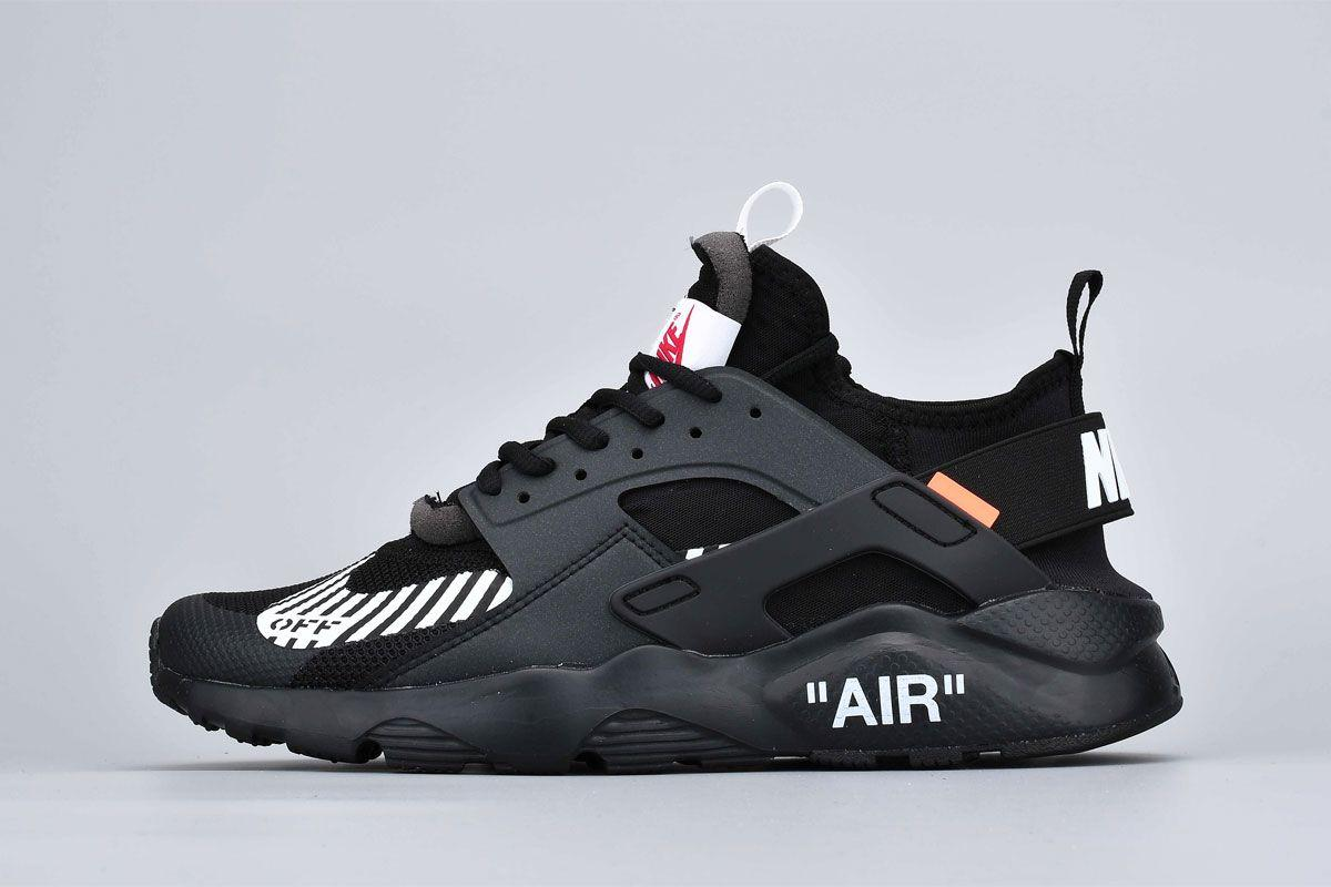 "Кроссовки Nike Air Huarache Off-White ""Black"""