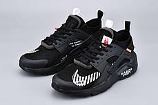 "Кроссовки Nike Air Huarache Off-White ""Black"", фото 3"