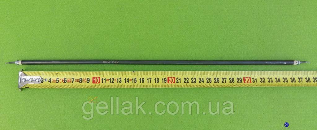 Тэн прямой для электродуховок 400 W / напряжение 110 V / длина L=360мм (резьба по краям) Sanal, Турция