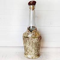 """Декор бутылки """"Десантник"""" подарок на день ДШВ новый год  день рождения Армейские сувениры"""