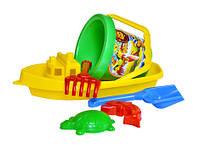 Игрушка кораблик 3 технок