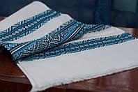 Вышитый   Вишитий рушник 1,5м Соборна голубой, фото 1