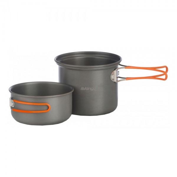 Набор посуды Vango Hard Anodised Cook Kit 2 Person Grey