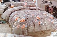 Байковый  комплект постельного белья Байка ( фланель)  Цветы