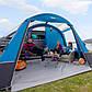 Палатка Vango Idris II Tall Sky Blue, фото 4