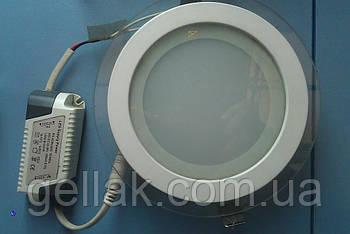 Точковий світлодіодний світильник Down Light 12W круглий