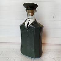 Стилізована пляшка «Генерал ВСУ» Подарунок військовому на день армії день народження