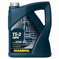 Моторное масло Mannol TS-2 20W50 5L