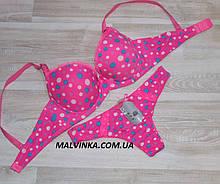 Комплект жіночої білизни арт 70669 рожевий,70,75,80 В