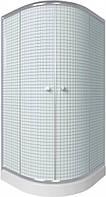 Душевая кабина Q-TAP 80x80 см на мелком поддоне SC8080.1 CRMс сифоном