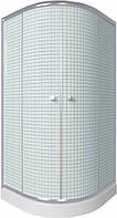 Душевая кабина Q-TAP 90x90 см на мелком поддоне SC9090.1 CRM с сифоном