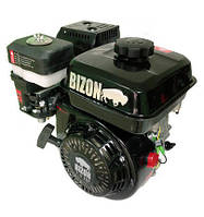 Двигатель  BIZON 170F (бензин 6.5 л.с., шлицы 25 мм)