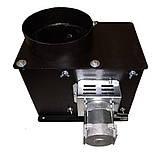 Вытяжной дымосос для твердотопливного котла ДБ-1 FCJ4C82S Atas Ø-200 (диаметр дымохода 200мм), фото 2