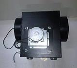 Вытяжной дымосос для твердотопливного котла ДБ-1 FCJ4C82S Atas Ø-200 (диаметр дымохода 200мм), фото 3