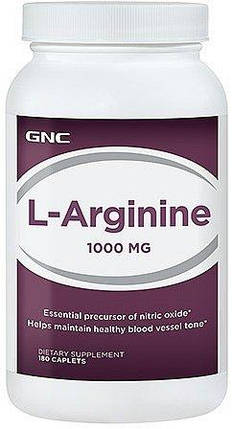 L-Arginine 1000 180 caps, фото 2