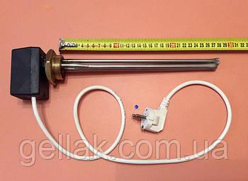 """Тэн для чугунной батареи 500 W (нержавейка) на резьбе 1 1/4"""" (42мм) с ЦИФРОВЫМ терморегулятором DALAS 3кВт"""