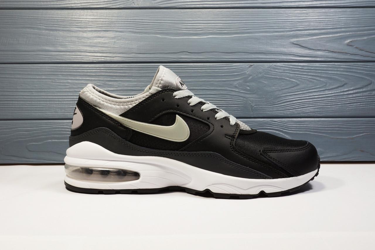 "Кроссовки Nike Air Max 93 ""Black/Grey"""