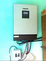Сонячна електростанція потужністю 1.2 кВт яка розташована у м. Мукачево