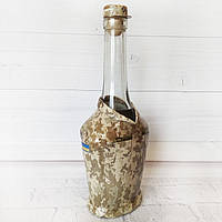 Декор пляшки Захисник України Подарунок чоловікові військовому на день армії день захисника день народження