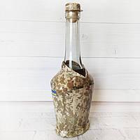 Сувенирная бутылка Защитник Украины Подарок военному на 14 октября