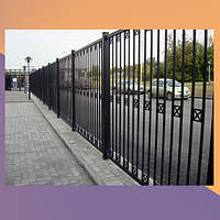 Забор металлический сварочный