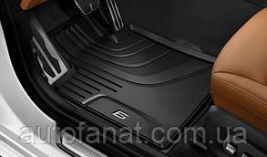 Оригинальные передние коврики салона BMW 6 (G32) (51472446289)