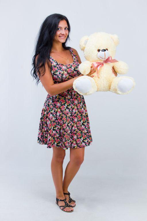 Плюшевый медведь Томми кремовый (50 см)
