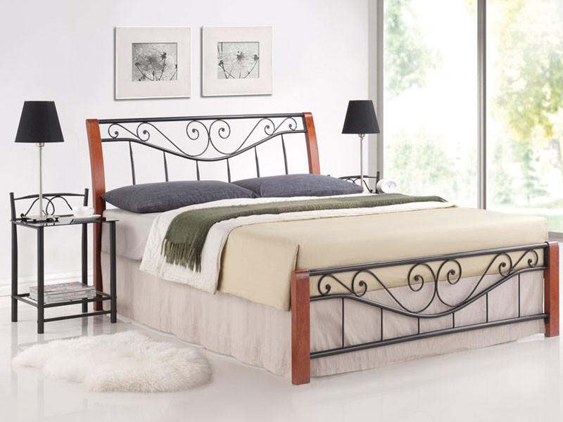 Кровать Parma 160x200 Signal черешня