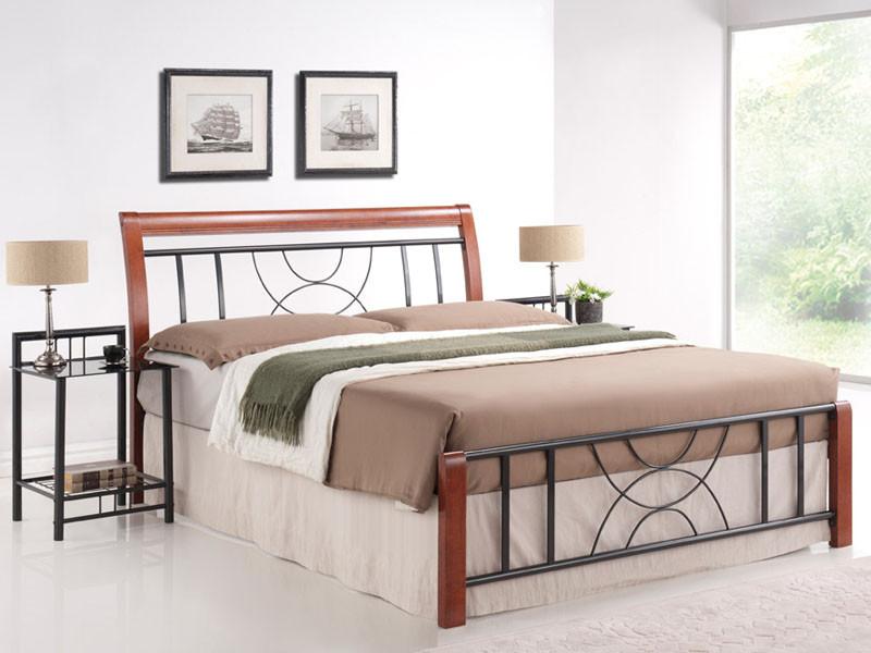 Кровать Cortina 160x200 Signal черешня