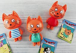 Фигуры персонажей Три кота В пакете LYU0255